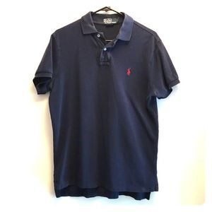 *3/$20* Polo Ralph Lauren Navy Custom Fit